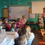 Poetry Slam - transformed classroom into a Cafe!